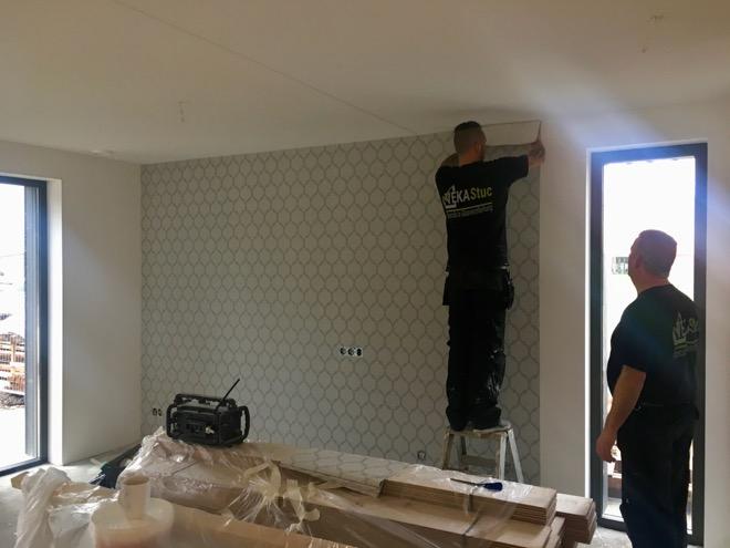 Renovlies Behang Ervaring : De voordelen van renovliesbehang ten opzichte van stucwerk